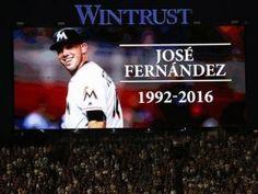 Unos Marlins unidos están de luto tras la muerte de José Fernández