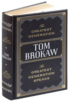 Distinguished journalist and former White House correspondent Tom Brokaw…