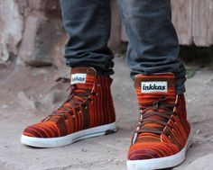 Inkkas is a socially conscious shoe company that sells beautiful handmade shoes made with traditional South American textiles. Inkkas donates a portion of every sale to help protect the Amazon and its inhabitants.