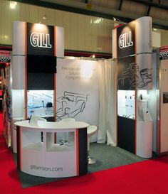 Exhibition Stand for Gill at Autosport 2014