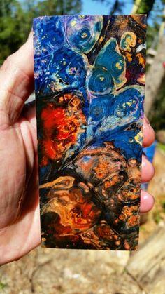 Stabilized Burl Exotic Wood Knife Scale Inlay Pistol Grip Mod Blank | eBay
