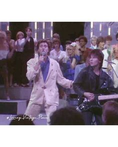"""Duran Duran performs """"Hungry Like The Wolf"""" at """" Top Of The Pops"""" (1982) #duranduran #simonlebon #andytaylor #johntaylor #rogertaylor… Thanksgiving Quotes Family, Family Quotes, Simon Le Bon, John Taylor, Wolf, Concert, Wolves, Concerts, Quotes About Family"""