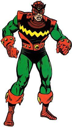 Living Laser - Marvel Comics - Avengers enemy