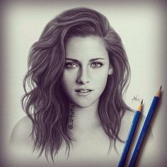drawing of kristen