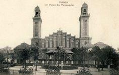 L'ancien Palais du Trocadéro de Paris