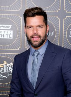 Singer Ricky Martin attends People En Espanol 2014 Los 50 Mas Bellos Event on May 12, 2014 in New York City.