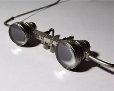 CARL ZEISS JENA DDR 2X LOUPE SPECTACLES GLASSES MAGNIFIER WITH CASE  | eBay