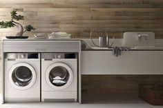 Laundry Valcucine, lavanderia integrata in cucina