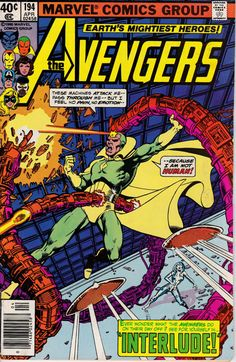 Avengers 194 April 1980 Issue  Marvel Comics  Grade by ViewObscura