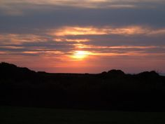 Sunset at Morwenstow, north Cornwall, England UK. Some of our nearest amazing coastal walks #hiking