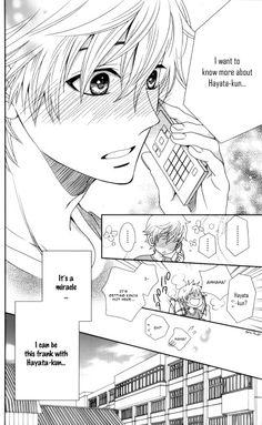 Nanoka no Kare#manga his reaction is so cute x3! ♡