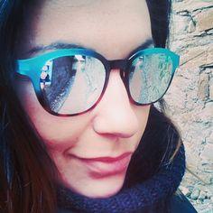 Andando al lavoro con il NUOVO bellissimo modello VA7 della Incredibile glasses  Nuova collezione da Okkio, tante novità in anteprima per questa primavera-estate