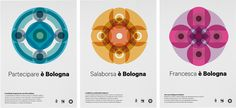 Bologna Corporate identity by Matteo Bartoli and Michele Pastore #city #corporate #identity #Bologna
