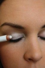 Use a white pencil under your eyeshadow to make your eyeshadow pop! -- 32 Makeup Tips That Nobody Told You About