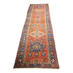 Bellwether Rugs Vintage Persian Karajeh Runner Rug 3 X 10 8