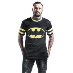 Batman Camiseta »Mesh Shirt« | Cómpralos en EMP | Más Fan merch Camisetas disponibles online ✓ ¡Precios inigualables!