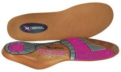 Aetrex Womens Mozaic Customizable Insoles Size 7 ** Check this awesome product by going to the link at the image.