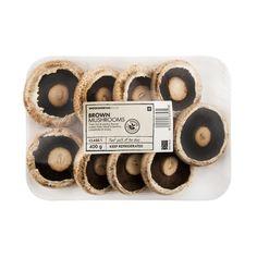 Brown Mushrooms 400g