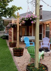 Fresh and beautiful front yard lanscaping ideas (3)