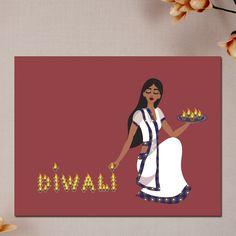 Diya Diva Diwali Cards #SoulfulMoon
