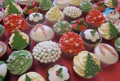 Christmas cupcakes for the festive event at Hoar Park