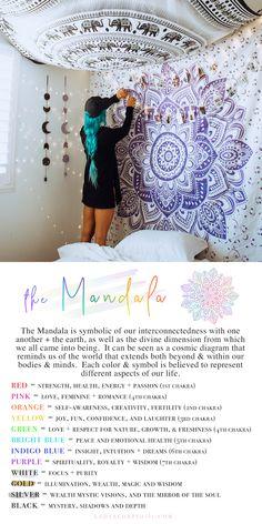 Flexible simplified meditation room decor Register for our webinar Meditation Raumdekor, Meditation Room Decor, Bohemian Tapestry, Mandala Tapestry, Tapestry Bedroom, Wall Tapestry, Love Mandala, Chakras, Power Yoga Videos
