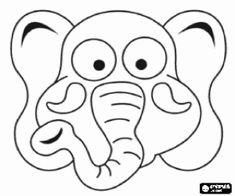 Dieren Maskers Kleurplaten.13 Beste Afbeeldingen Van Masker In 2015 Kleurplaten
