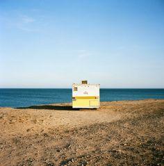 ocean front camping