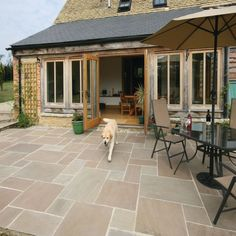 Buy pale grey brown toned Pavestone Tudor Antique Oxford tumbled sandstone paving in great value patio packs from AWBS with Free Local Delivery Sandstone Paving Slabs, Paving Stones, Flagstone, Patio Slabs, Paved Patio, Block Paving Patio, Paving Flags, Outdoor Paving, Patio Stone