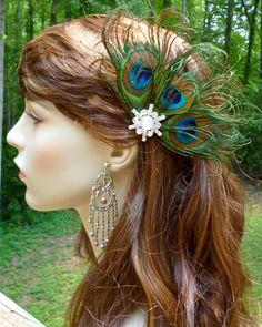 "Decoration for my ""mermaid hair"". :)"