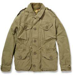 Polo Ralph Lauren - Cotton Combat Jacket | MR PORTER