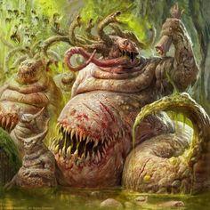 Beasts of Nurgle by Antonio J. Manzanedo