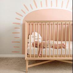 Single Pack Crib Sheet   Pink Raindrops