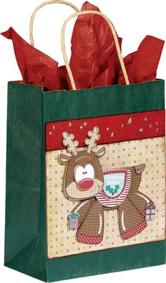 from Paper Wishes/Hot Off the Press...just toooo cute!  Love the reindeer wobbler on the front!