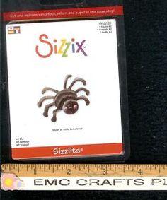 SIZZIX~SIZZLITS SPIDER