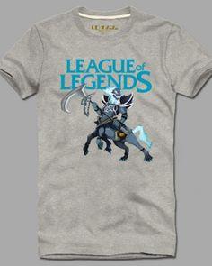 League of Legends short sleeve tshirt Hecarim for men plus size -