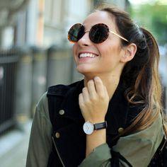 European Round Fashion Designer Women's Sunglasses