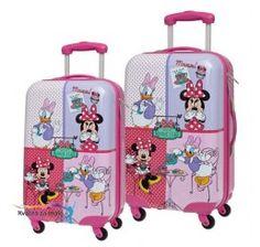 8f82228090c6c Sada cestovných kufrov ABS Minnie a Daisy café Daisy Cafe, Abs, Fit Abs,