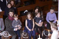 December 16, 2013  Christmas concert, Copenhagen Late yesterday afternoon, Prince Frederik, Crown Princess Mary and their four children, Christian, Isabella, Vincent and Josephine attended a Christmas concert in a church in Copenhagen.