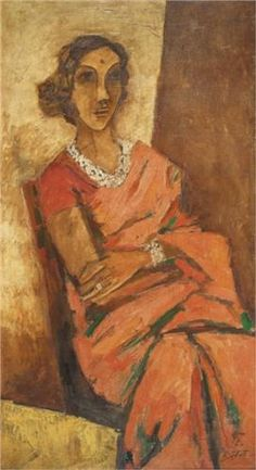 Untitled - M.F. Husain (Indian: 1915-2011)