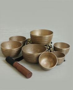 Seven Chakras Singing Bowl Set