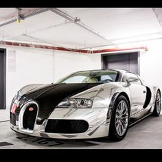 "Wow! The Bugatti Veyron Pur Sang - Meaning ""pure blood"" or ""thoroughbred"""