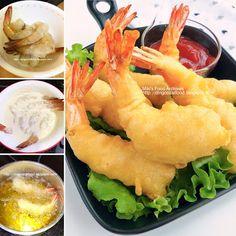 Miki's Food Archives : Chinese Deep Fried Prawn 中式炸虾球