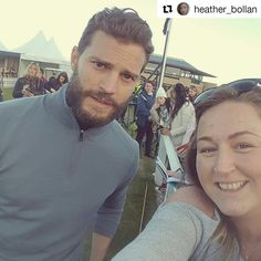 Another Fan Picture #JamieDornan  ALfred Dunhill championship