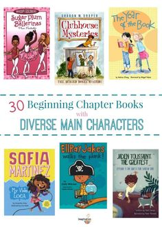 beginning chapter books with diverse main characters