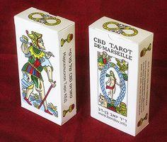 CBD TAROT - I Tarocchi utilizzati nel mio libro.