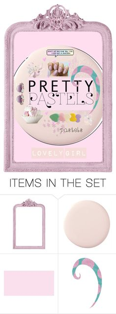 """Lovely Girl - Pretty Pastel"" by clee-266 ❤ liked on Polyvore featuring art"