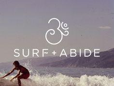 Surf + Abide logo || Jody Worthington
