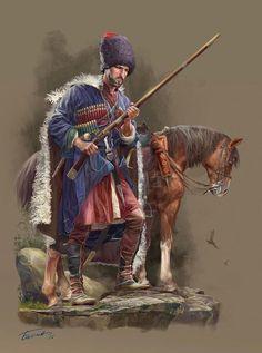 В дозоре (Горец с ружьем) Балиев Гамид