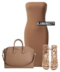 """""""Untitled #384"""" by glamandcity ❤ liked on Polyvore featuring Givenchy and Gianvito Rossi"""